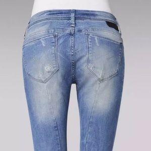 G-Star Midge Sculpted Butt Lift Skinny 24 x28 Jean